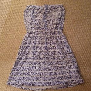 GAP Blue and White Floral Sundress